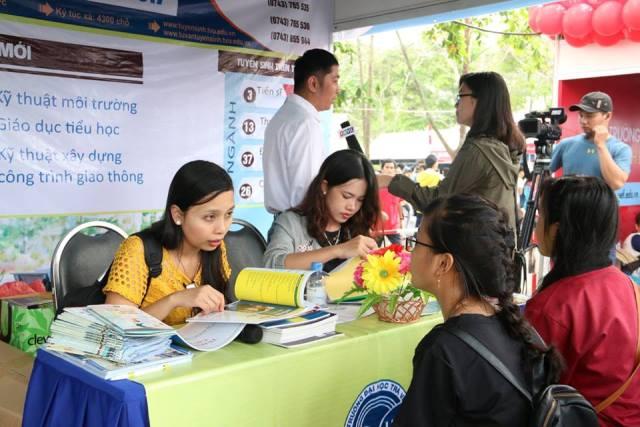 Thí sinh đăng ký xét tuyển tại trường ĐH Trà Vinh